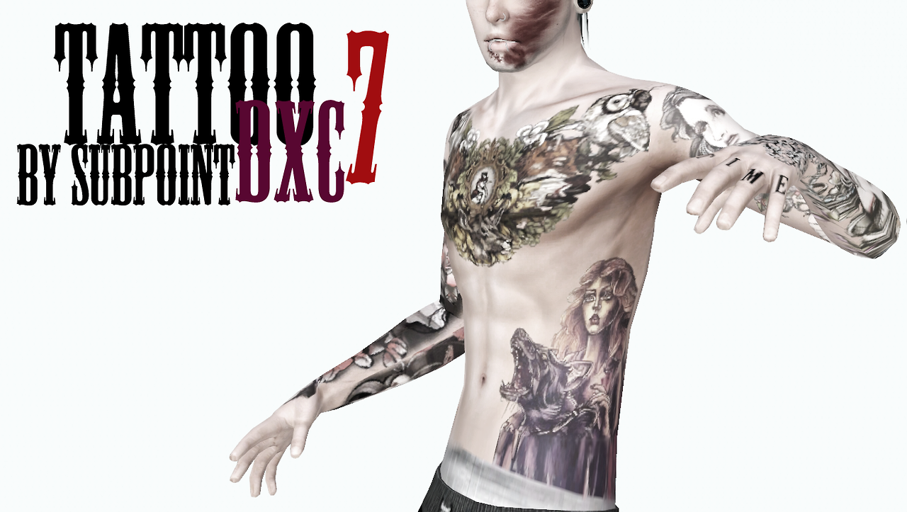 My Sims 3 Blog Tattoos By Subpoint