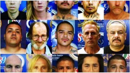 """Los """"CAZA-GRINGOS"""",ESCUADRON MEXICANO a la CAPTURA de ESTADOUNIDENSES PROFUGOS"""