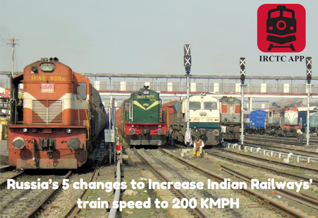 india rail info, Indian Railways, indian railways enquiry, irctc, IRCTC App, Rail Ticket Booking App, Russia, Russian railways,