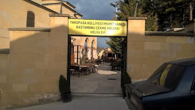 Yakupağa Külliyesi İmarethanesi Kastamonu Çekme Helvası Helva Evi