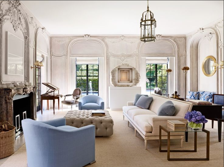 transitional style living room la jolla hours design 7 rooms interior with ornate walls lean lined furniture in blue