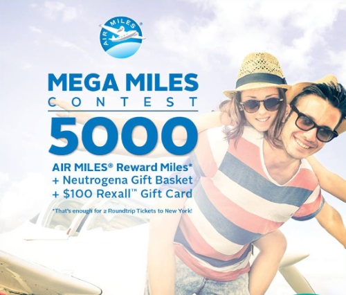 Rexall Pharma Plus Mega Miles Contest