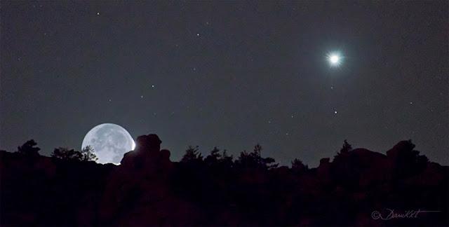Lua e Vênus