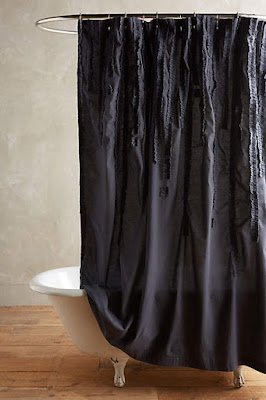 Bohemian shower curtain from Anthropologie