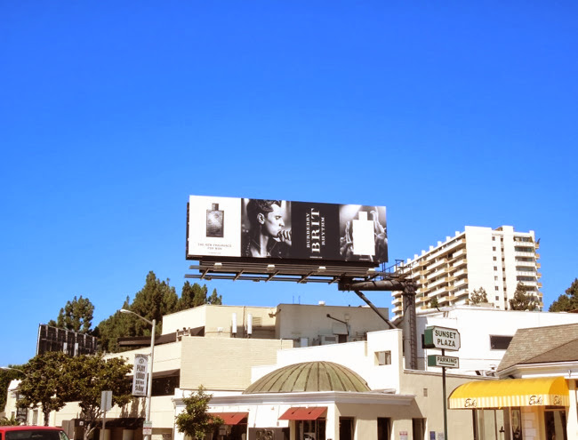 Burberry Brit Rhythm billboard
