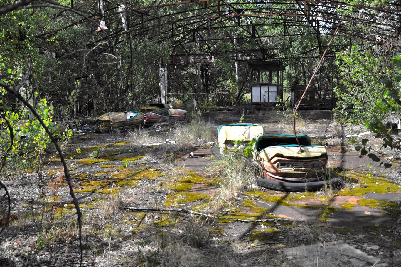 amusement park czernobyl prypeć
