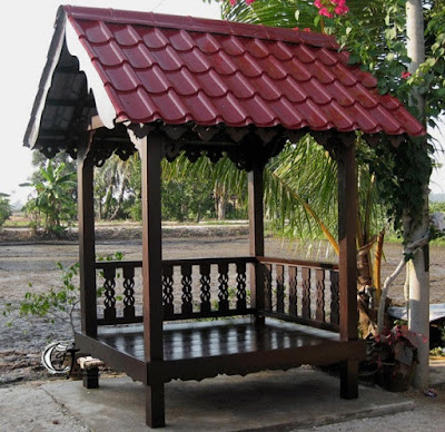 Gazebo Khas Indonesia - Mini
