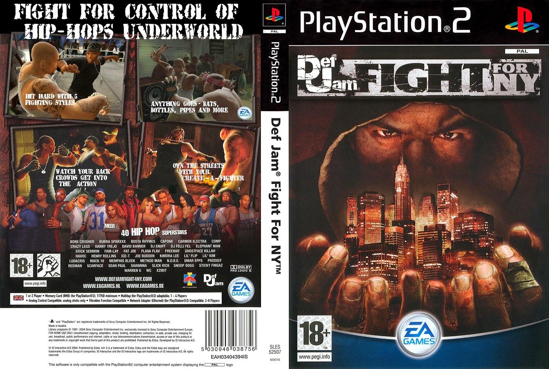 Cheat Def Jam: Fight For NY PS2 - Gudang Cheat Dan Trik Game