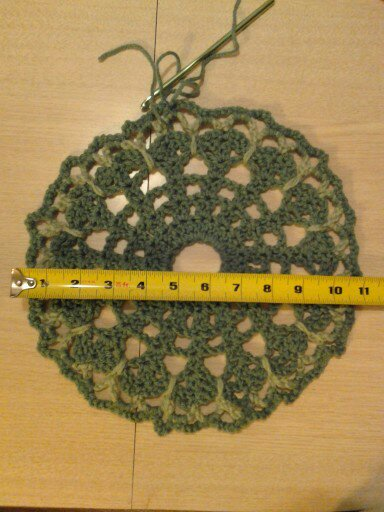 doily, crochet, butterfly stitch