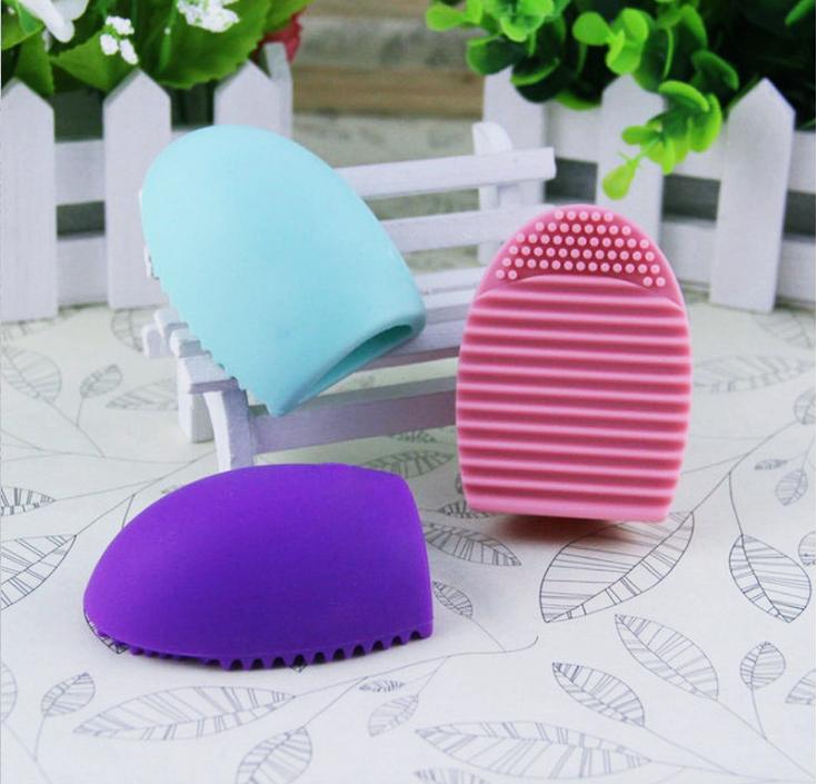 luva de silicone +cuidados pinceis+lavando pinceis