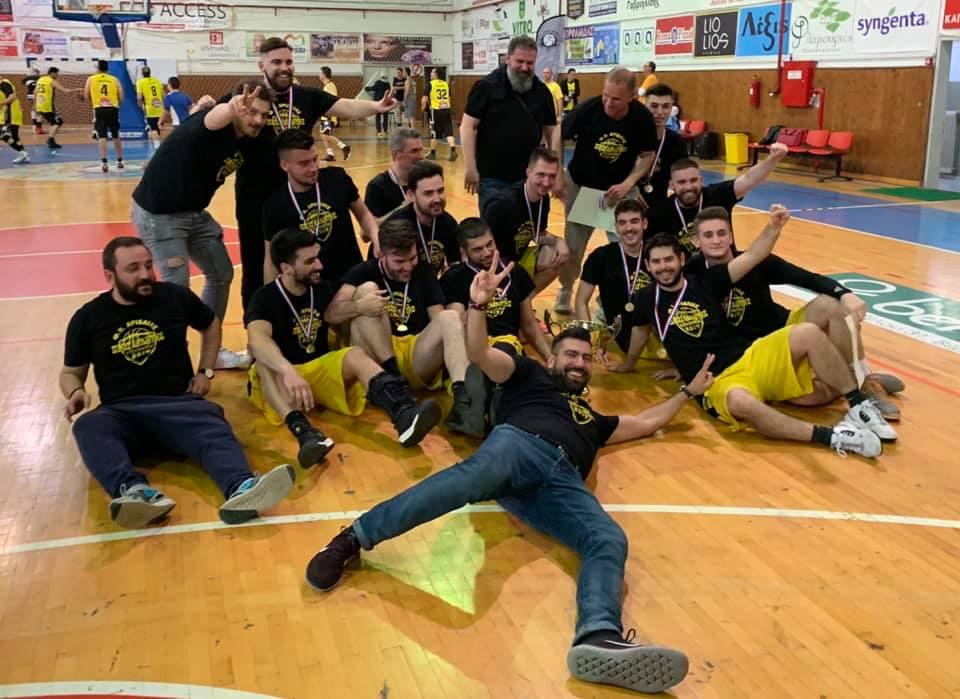 9d0ade7c89f Αετοί Βέροιας - ΦΟ Αριδαίας 68-70. Με παλικαρίσια νίκη η ομάδας πήρε το  πρωτάθλημα της ΕΚΑΣΚΕΜ και του χρόνου θα αγωνίζεται στη Γ' Εθνική κατηγορία.