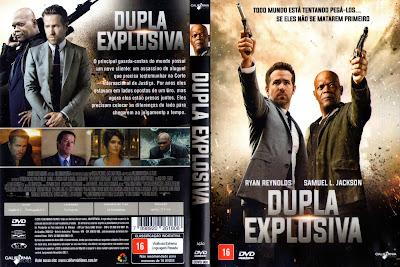 Filme Dupla Explosiva (The Hitman's Bodyguard) DVD Capa