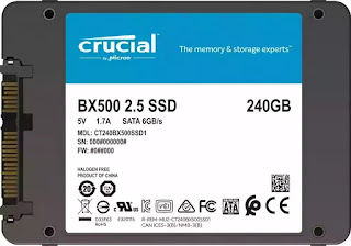 Disco Crucial SSD de 240gb SATA, 2.5