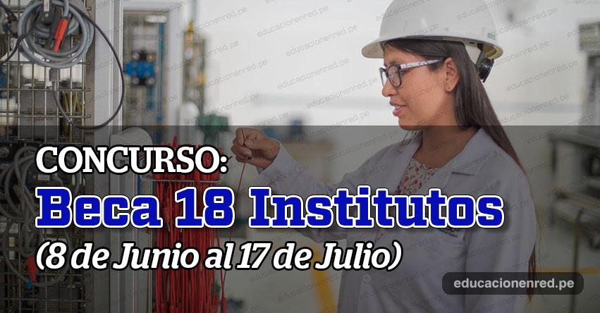 PRONABEC inicia este lunes postulación al concurso Beca 18 Institutos 2020 - www.pronabec.gob.pe