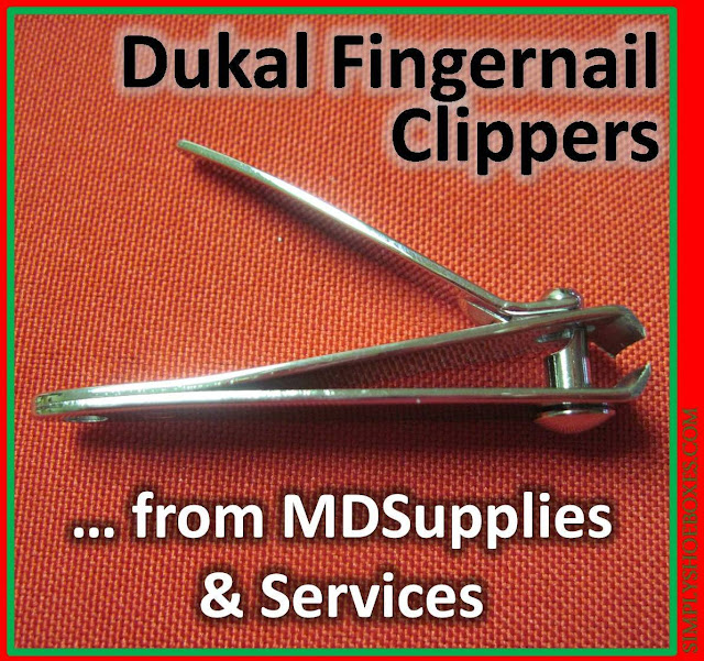 MDSupplies & Services nail clippers review for OCC shoeboxes.