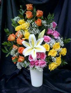 Tips Supaya Rangkaian Bunga Supaya Awet