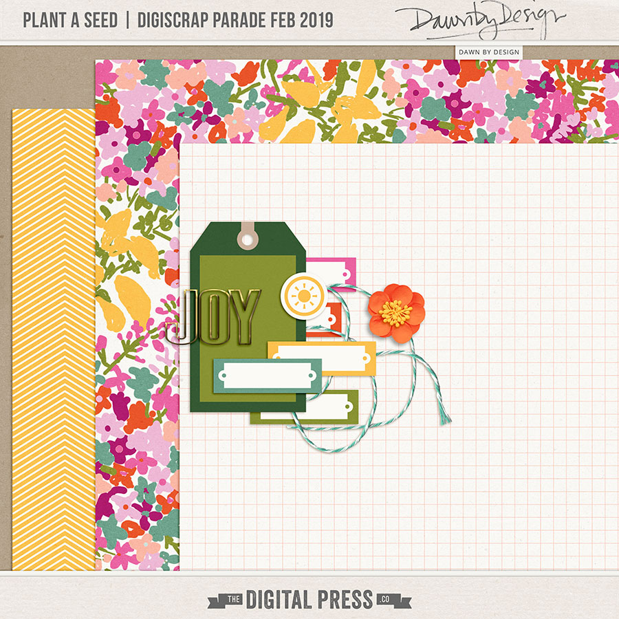 February 2019 DigiScrap Parade