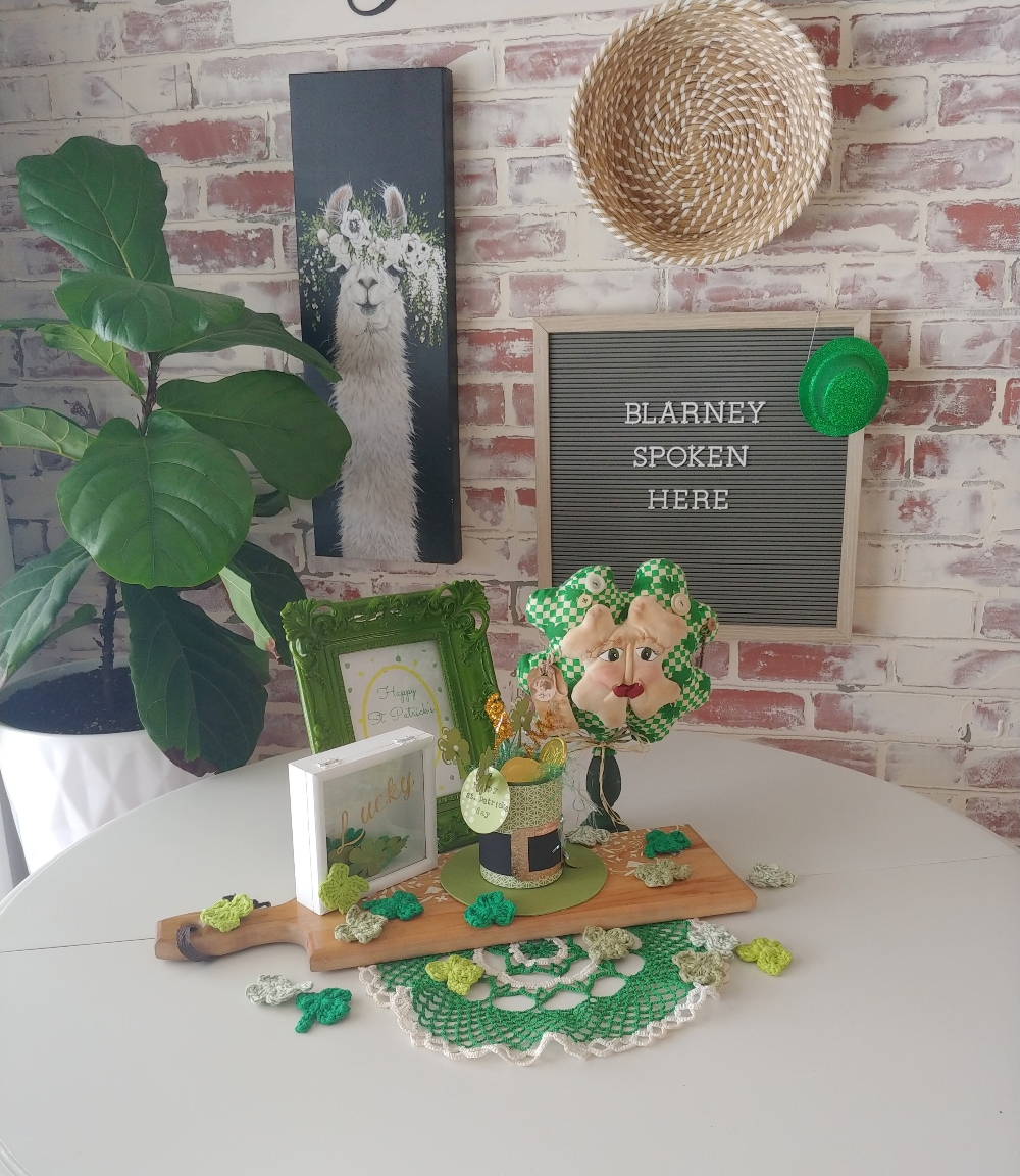 St. Patrick's Day in the dining room