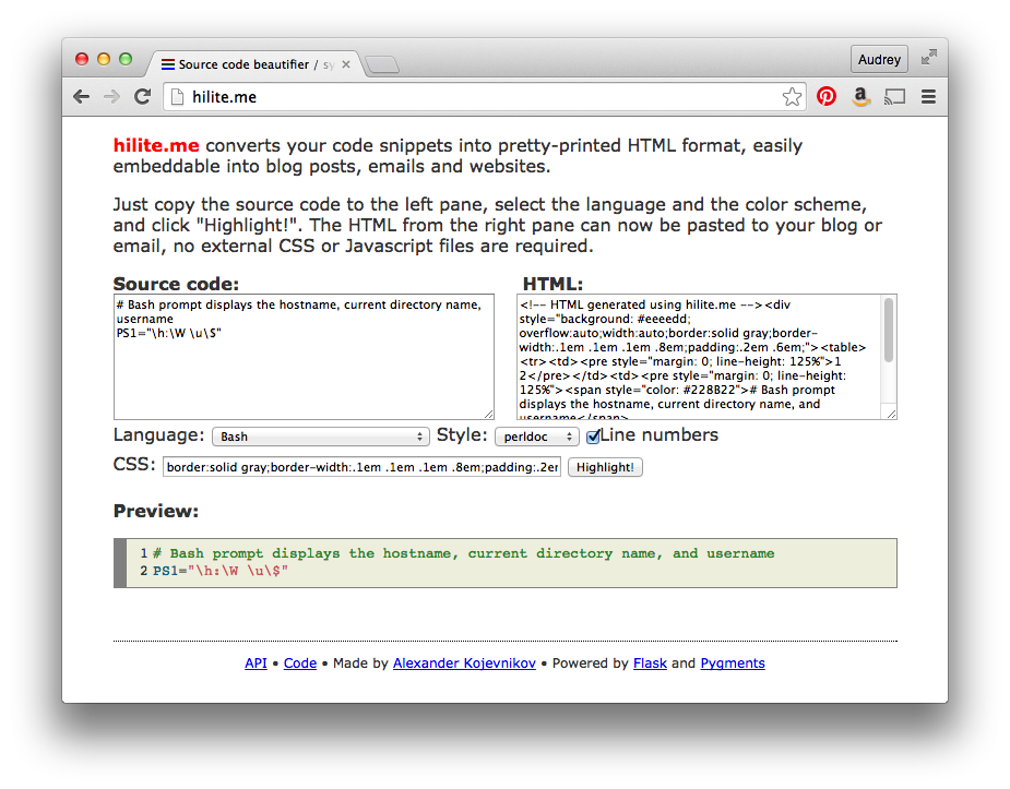 Code Makes Me Happy: How to Add Syntax-Highlighted Code Snippets to