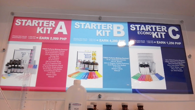 Starter Kit A*- Do It Yourself Starter Kit- Projected Sales- Php 6,000 - Investment Cost Php 3,500= Php 2, 500 Earnings  Started Kit B*- Premix Starter Kit- Projected Sales- Php 8,280 - Investment Cost Php 4,000=  Php 4, 280 Earnings  Starter Econo Kit C- Projected Sales- Php 2, 500 - Investment Cost Php 1, 250=  Php 1, 250 Earnings