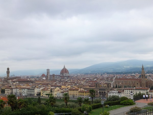 florence toscane belvédère piazzale michelangelo vue panorama duomo
