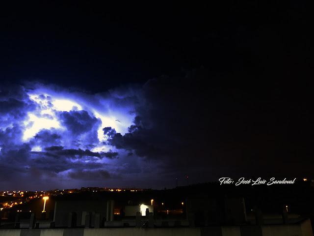 Aviones desviados por tormenta eléctrica, Gran Canaria