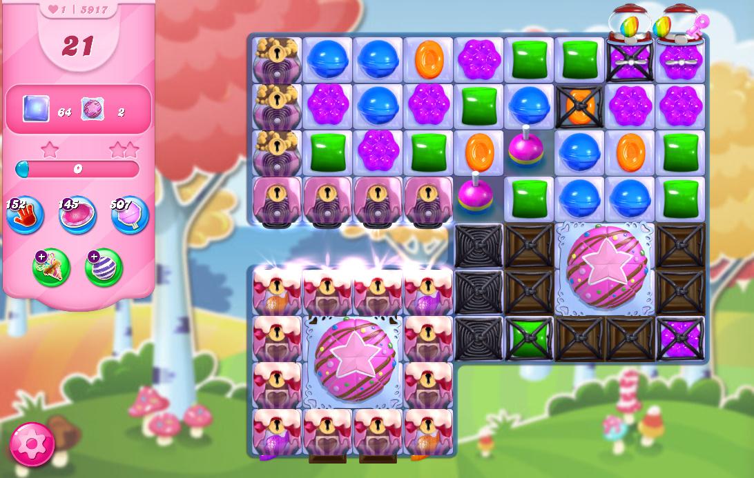 Candy Crush Saga level 5917