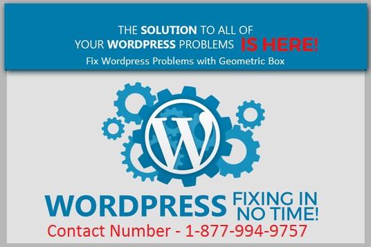 Geometric Box - Wordpress Support Number: Wordpress Customer Service