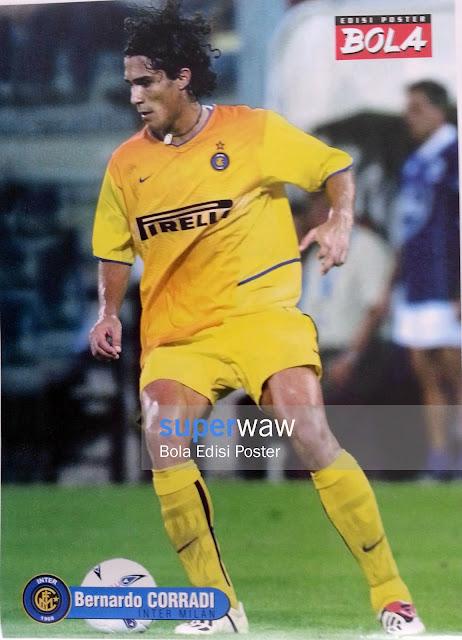 Poster Bernardo Corradi (Inter Milan)