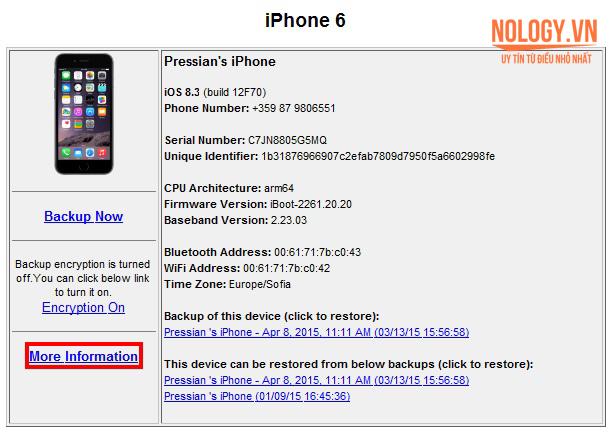 Cách kiểm tra pin iphone 6 plus bị chai