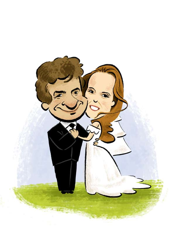 Funny Wedding Cartoon Collection World