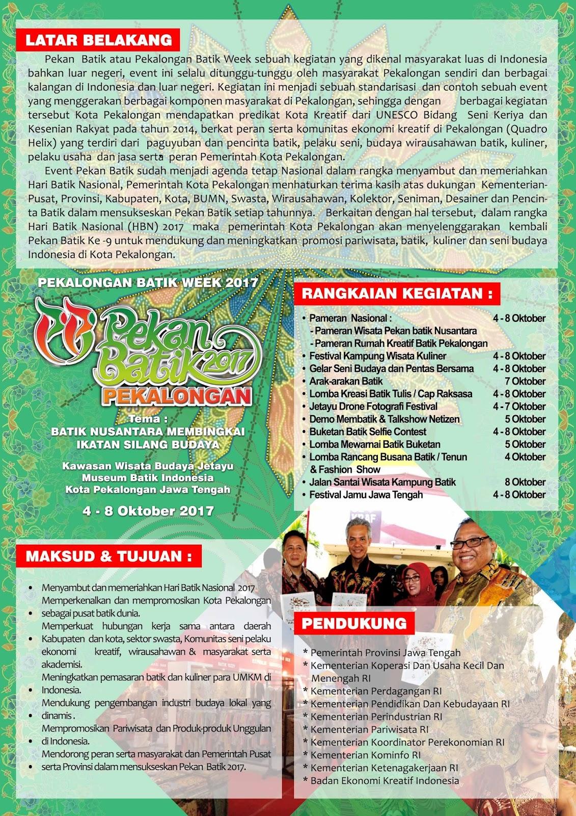 Hari Batik Nasional Aku Cinta Batik