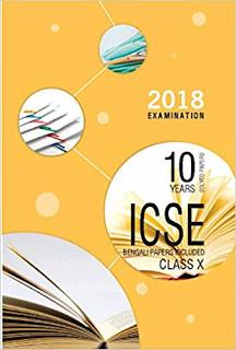Three best 10 years books for ICSE exam 2018 - Java