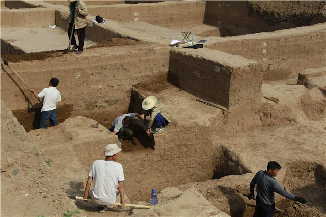 'Ethnic minority' tomb complex discovered in Central China's Henan