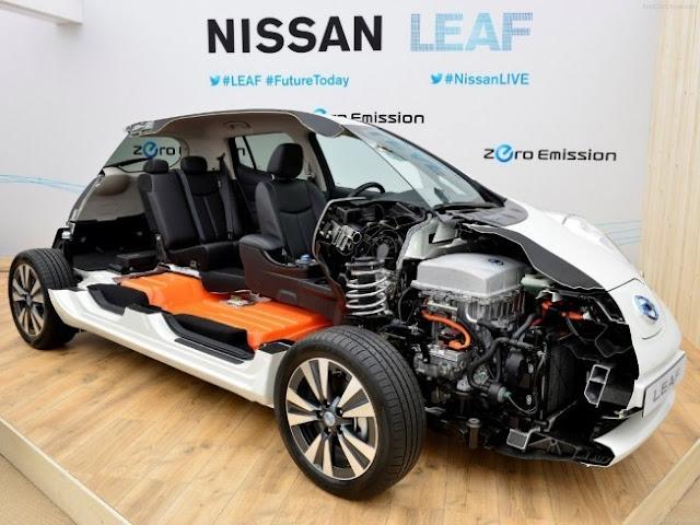 Batería Nissan Leaf Eléctrico