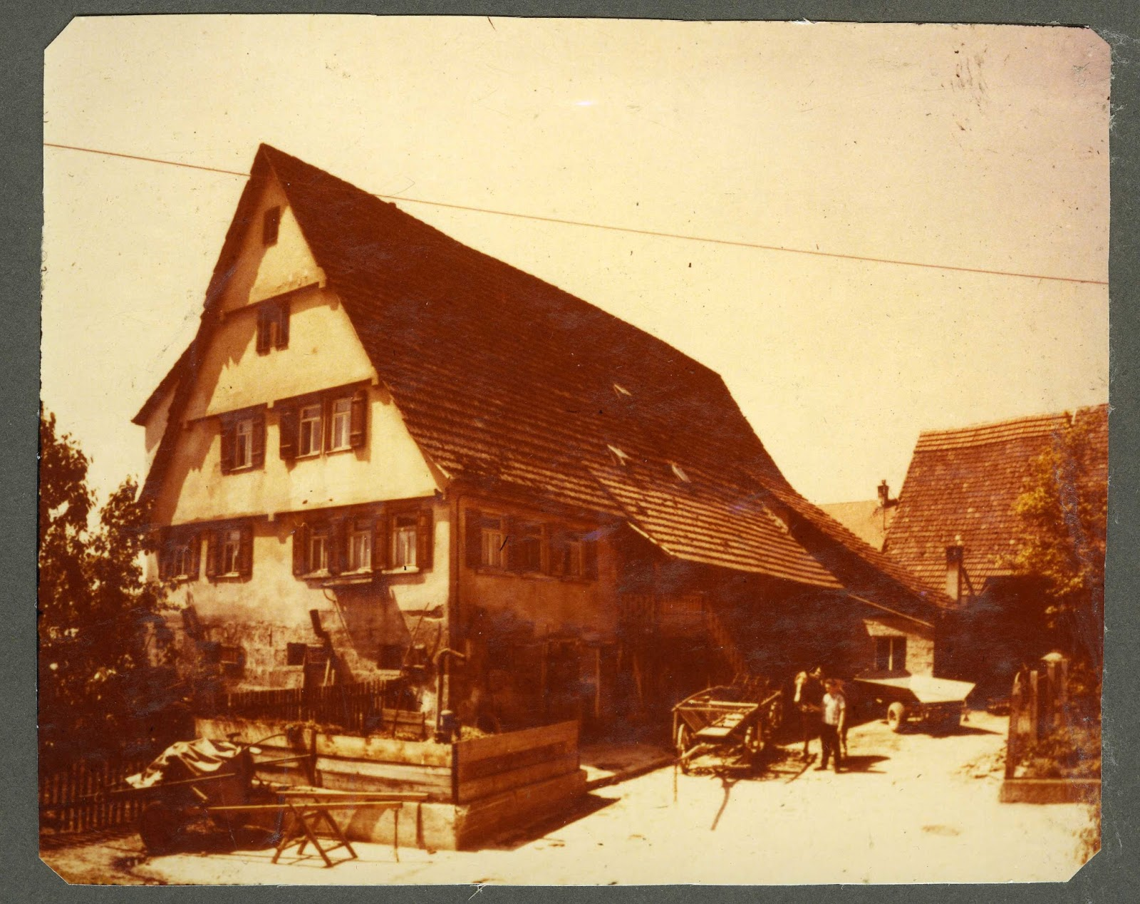 Rommelsbach Alt Rommelsbach und seine Bauernhuser
