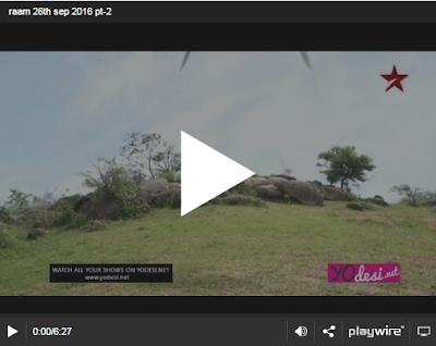 Siya Ke Ram 26th September 2016 Full Written Episode 273 Watch Online