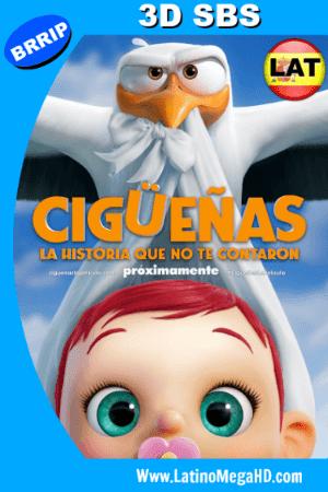 Cigüeñas: La Historia que no te Contaron (2016) Latino Full 3D SBS 1080P ()