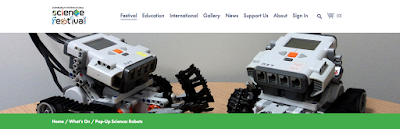http://www.sciencefestival.co.uk/event-details/pop-up-science-robots