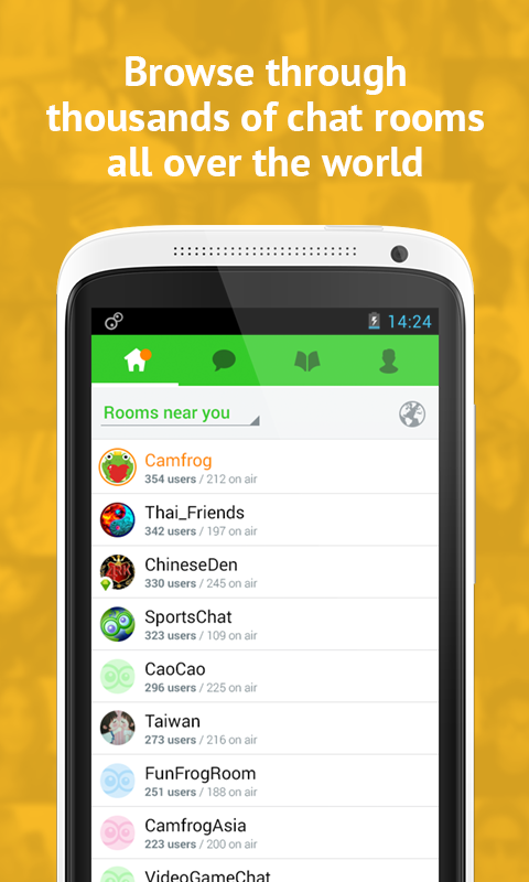 Camfrog Video Chat Pro v3 1 968 APK Android | Index Apk Android