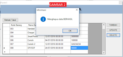 Cover2 - Tutorial Vb.Net - Cara Menciptakan Tombol Delete Database Mysql Memakai Connector Odbc