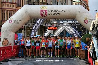 media maraton via de la plata la bañeza