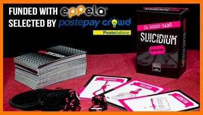 suicidium, officina meningi, eppela, crowdfunding, postepay crowd