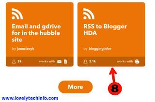 settings for auto blogging