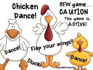 FREE Game CHICKEN DANCE from 1stgradefireworks