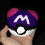 patron gatis master ball pokemon amigurumi | free ball pokemon master pattern amigurumi