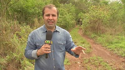 Rodrigo Hidalgo em rota de contrabando próxima ao lago de Itaipu - Divulgação/Band