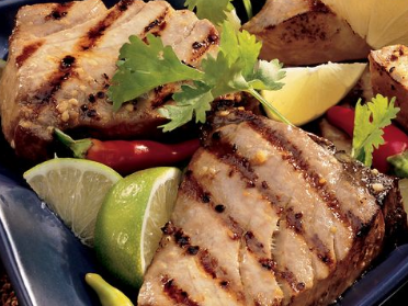 Lime Grilled Tuna