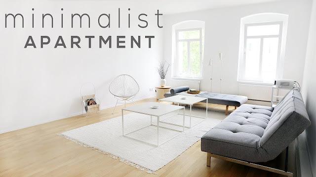 dalaman tempat tinggal aka apartemen minimalist