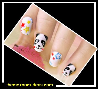 animal themed nails - animal themed nail designs